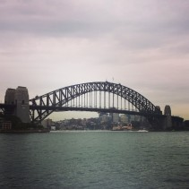 Instagramed Harbor Bridge